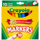 Crayola Classic Colors Broad Line Markers, 10-Count