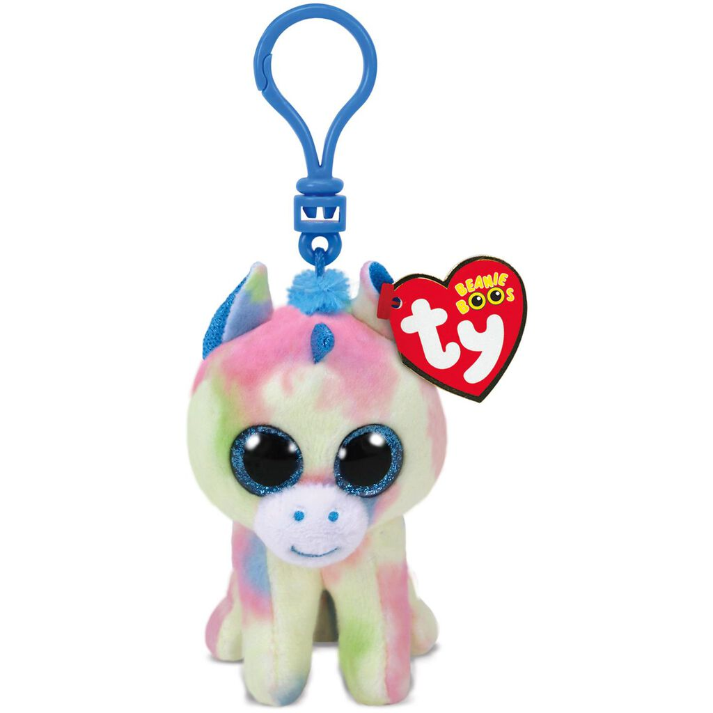 Ty® Beanie Boos Blitz Blue Unicorn Stuffed Animal Clip - Classic Stuffed  Animals - Hallmark 53fcffc1fa4