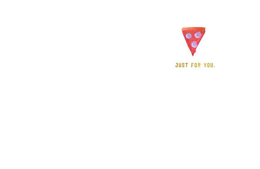 Pizza Slice Of Happy Birthday Card Greeting Cards Hallmark