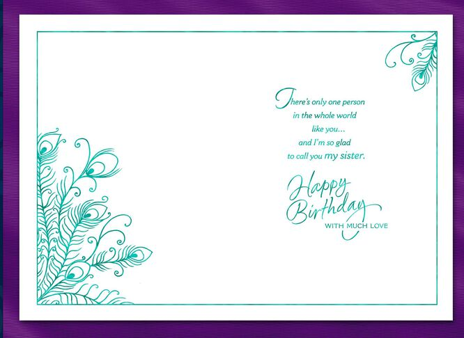 Beautiful and strong sister birthday card greeting cards hallmark beautiful and strong sister birthday card bookmarktalkfo Gallery