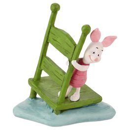 Piglet on Chair Figurine, , large