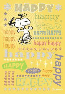 Birthday cards bday cards hallmark snoopy happy birthday card bookmarktalkfo Image collections