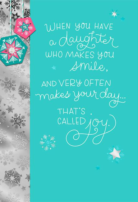 thats called love christmas card for daughter - Love Christmas Cards