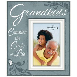 Grandkids Script Wood Photo Frame, 4x6, , large