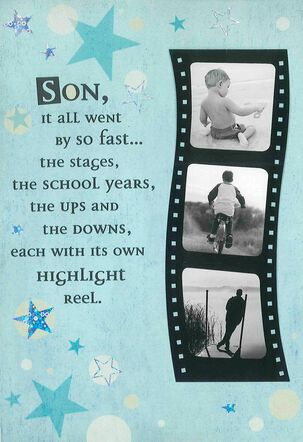 Highlight Reel Birthday Card for Son