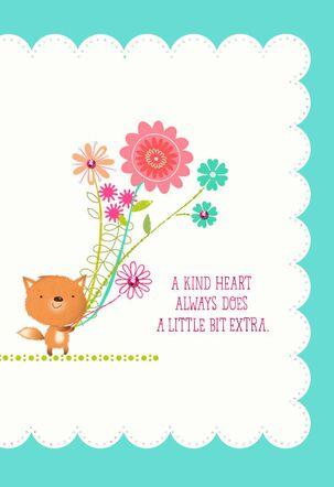 Kind Heart Thank You Card
