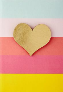 Happy Heart Friendship Card With Pin,