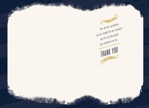 Salute to Strong Servicewomen Veterans Day Card,