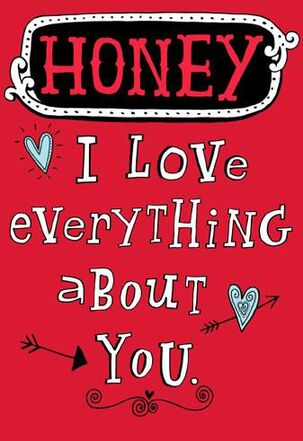 Love Everything Except Funny Valentine's Day Card