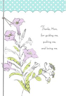 Thanks From a Loving Son Mother's Day Card,