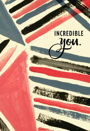 Jill Scott Incredible You Father's Day Card
