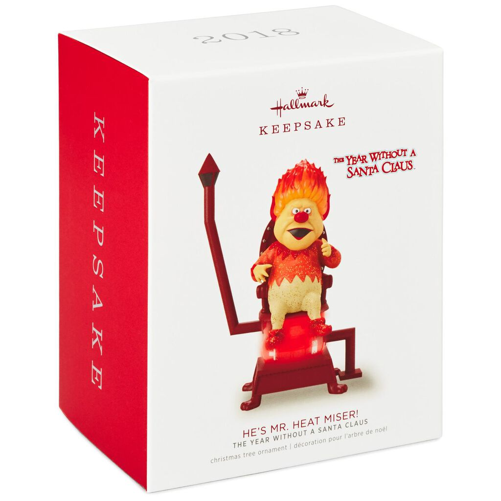 The Year Without a Santa Claus™ He\'s Mr. Heat Miser! Ornament ...