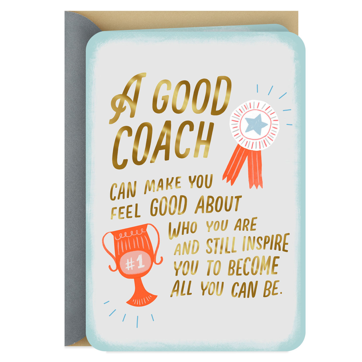 A Coach Who Supports and Inspires Thank