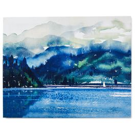 Cedar Cove Mountain Oasis 11x14 Canvas Art, , large