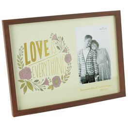 Love Is Everything Picture Frame, 4x6, , large