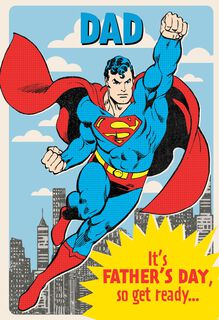 Superman™ Lots of Love Father's Day Card,