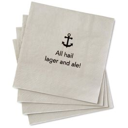 Lager and Ale Beverage Napkins, Pack of 20, , large