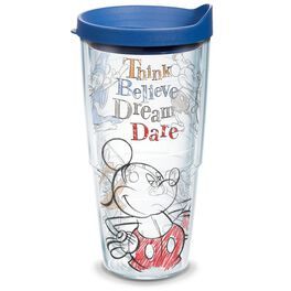 Disney Think, Believe, Dream, Dare Tumbler With Lid, 24 oz., , large