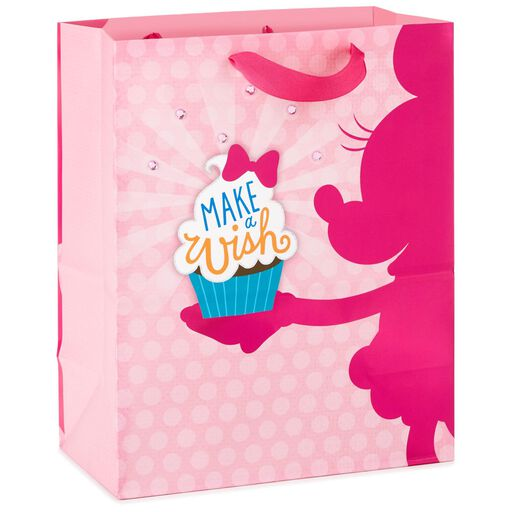 Minnie Mouse With Cupcake Large Gift Bag 13