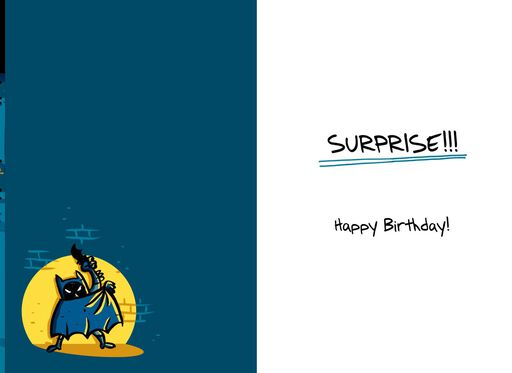 A Surprise Party for Batman™ Birthday Card,