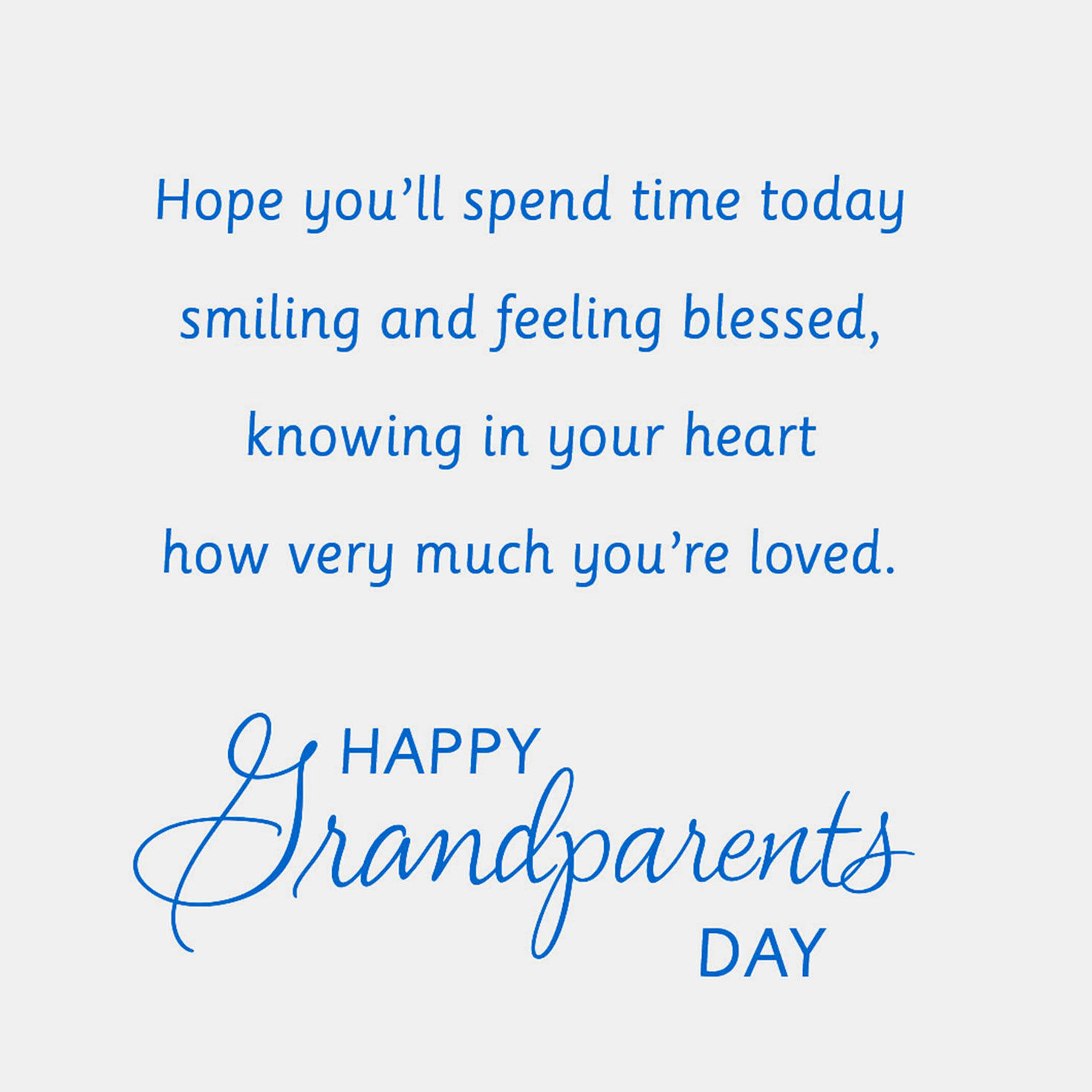 photograph relating to Printable Grandparents Day Card identify Grandparents Working day Playing cards Hallmark