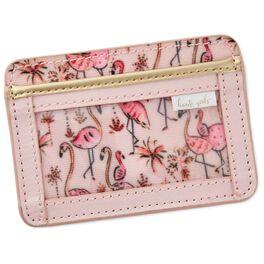 Haute Girls™ Paradise Pink Flamingo ID Case, , large