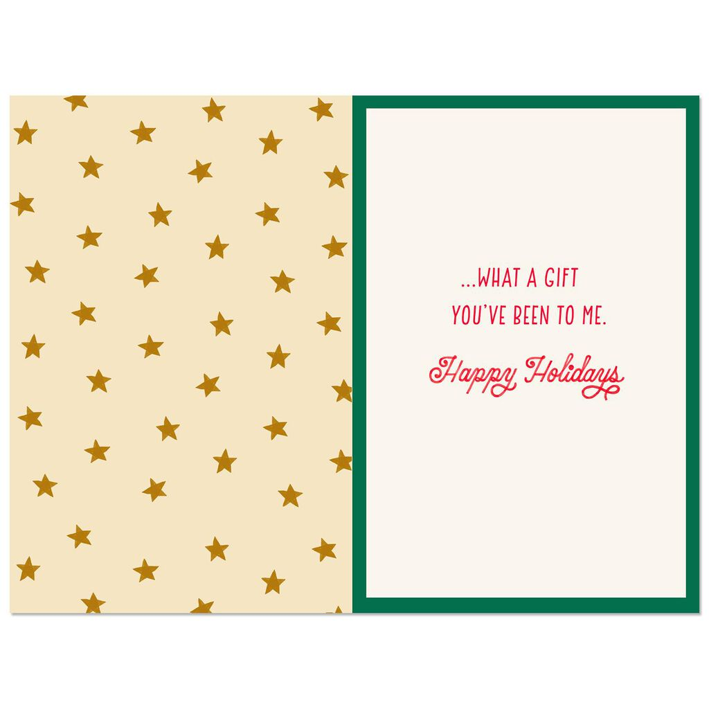 Thanks for Believing in Me Christmas Card for Coach - Greeting Cards ...