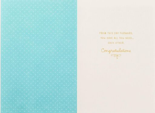 Mr. and Mrs. Wedding Card,