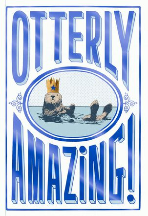 Otterly Amazing Father's Day Card
