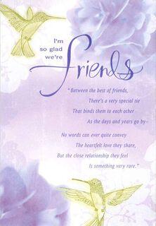 Hydrangeas and Happiness Friendship Birthday Card,