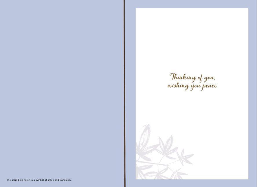 wishing you peace sympathy card greeting cards hallmark