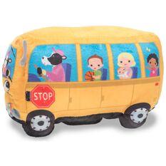 Bat Bus 12 >> Wheelie School Bus Interactive Stuffed Animal ...