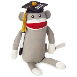 2017 Autograph Monkey Stuffed Animal, , large