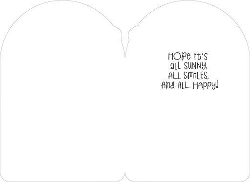 Minnie Mouse Sunny Smiles Birthday Card,