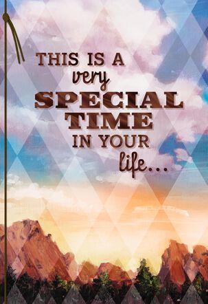 Seize the Moment Bar Mitzvah Card