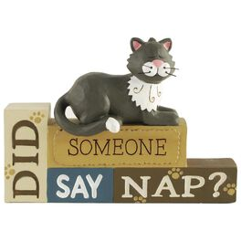 Did Someone Say Nap Cat Sign, , large
