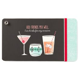 Cocktail Recipe Book, , large