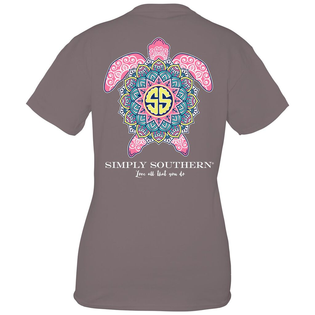 c76eed92a24 Simply Southern Women s Boho Turtle T-Shirt - Clothing - Hallmark