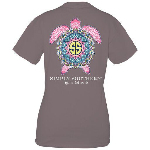 87eb6f5e1 Simply Southern Women's Boho Turtle T-Shirt,