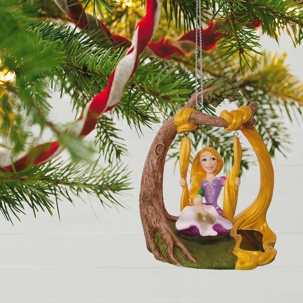 ... Disney Tangled Rapunzel In the Swing Solar Motion Ornament ...