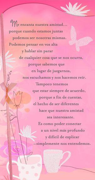 Special Friendship Spanish Valentine's Day Card