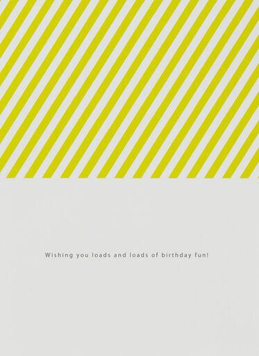 Loads of Fun Birthday Card,