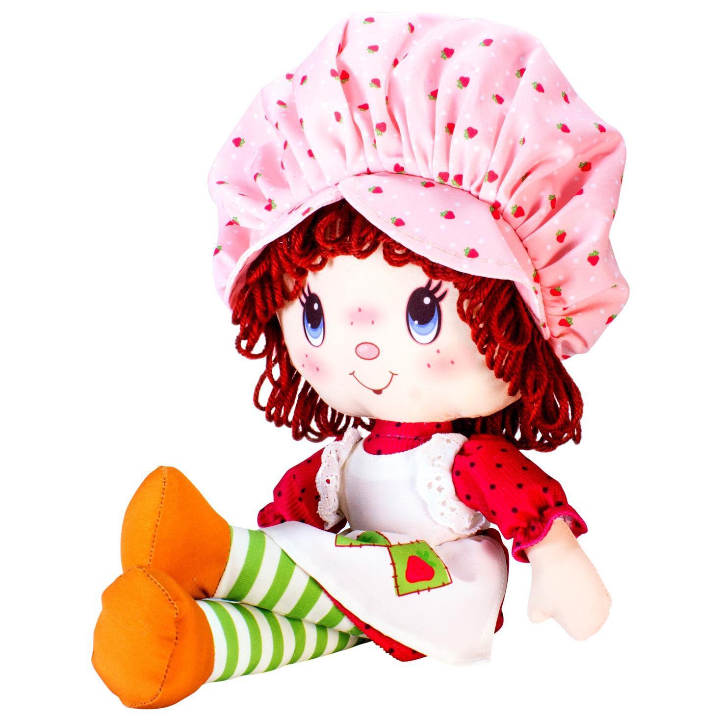 "Strawberry Shortcake Retro Soft Doll 14"" Dolls & Pretend Play"