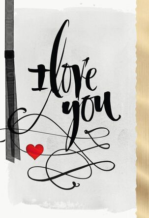 You Are My Love Romantic Valentine's Day Card