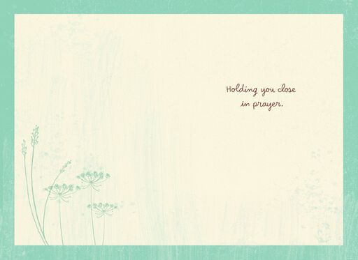 Holding You Close Sympathy Card,