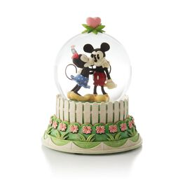 A Kiss For Mickey Water Globe, , large