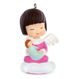Zinnia: Mary's Angels Ornament, , large