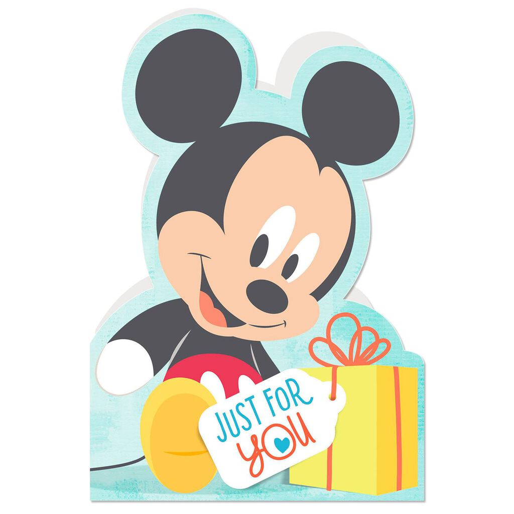 Disney Babies Mickey Mouse Thats You Birthday Card