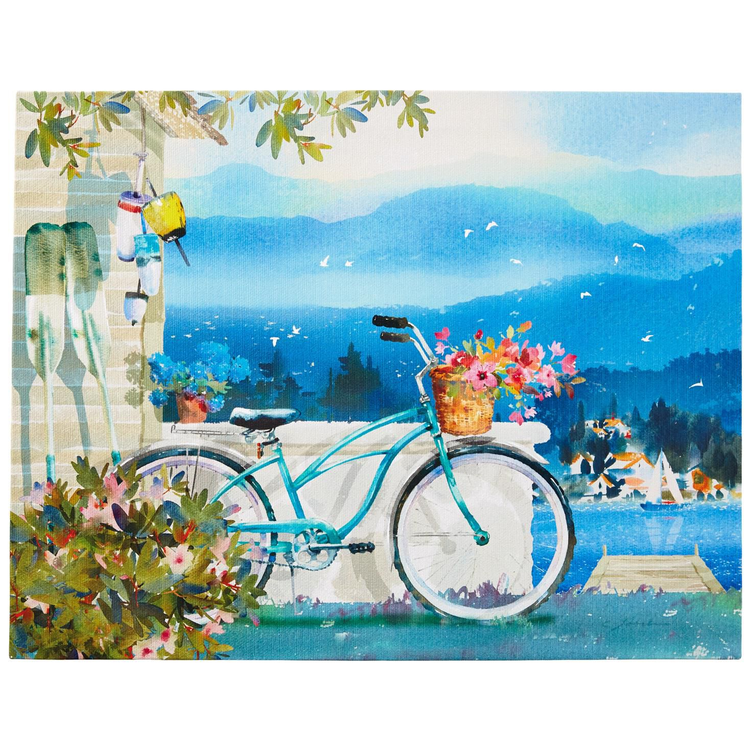 Canvas Art Bike Canvas Art 11x14 Framed Art Prints Hallmark