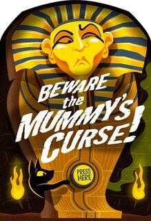Mummy's Stinky Curse Halloween Sound Card,